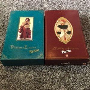 1994 and 1995 Hallmark collector Barbie